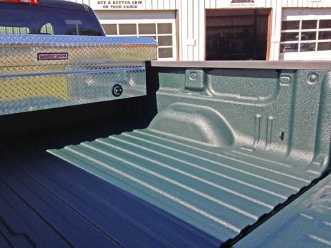480 green truck bed