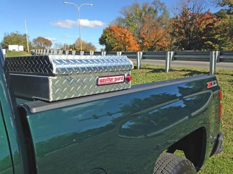 480 green truck tool box